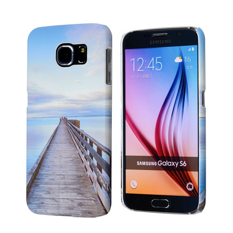 C&T Unique Design Mobile Phone Case Protect Hard Back Cover Plastic PC Case for samsung s6