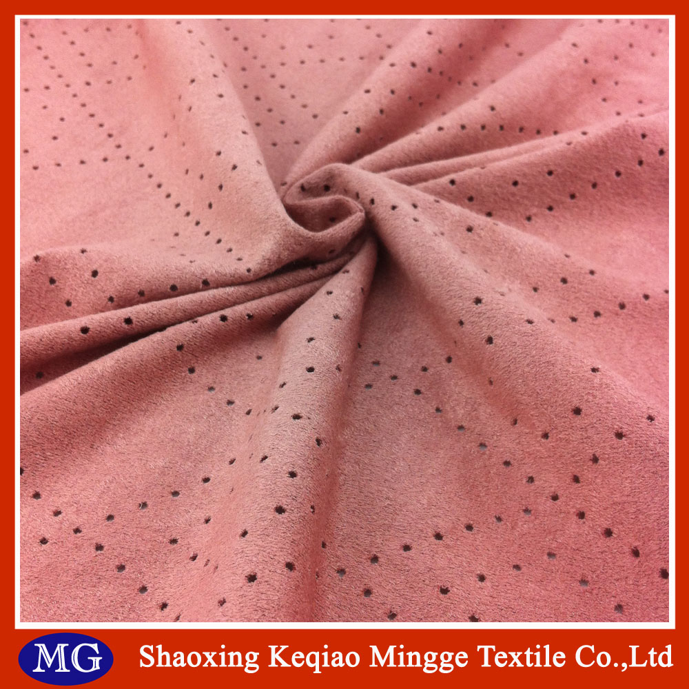 China manufacturer knitted double side brush suede Fabric
