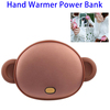 New Arrival Carton 4500 mAh Hand Warmer USB Power Bank Rechargeable