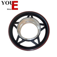 YOUE 12'' shining five stars aluminium alloy bike wheel hub