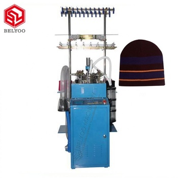 High Speed Knitting Loom Machine Computerized Commercial Knitting Machine For Polo Collar