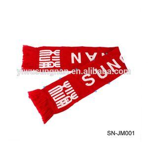holiday scarf happy meeting club fan sports scarves