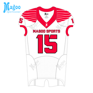 Full sublimation american football jersey customized team wear youth and adults football jersey and pants