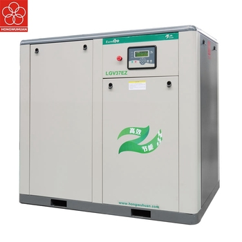 HONGWUHUAN hot selling stationary screw air compressor LGV37EZ