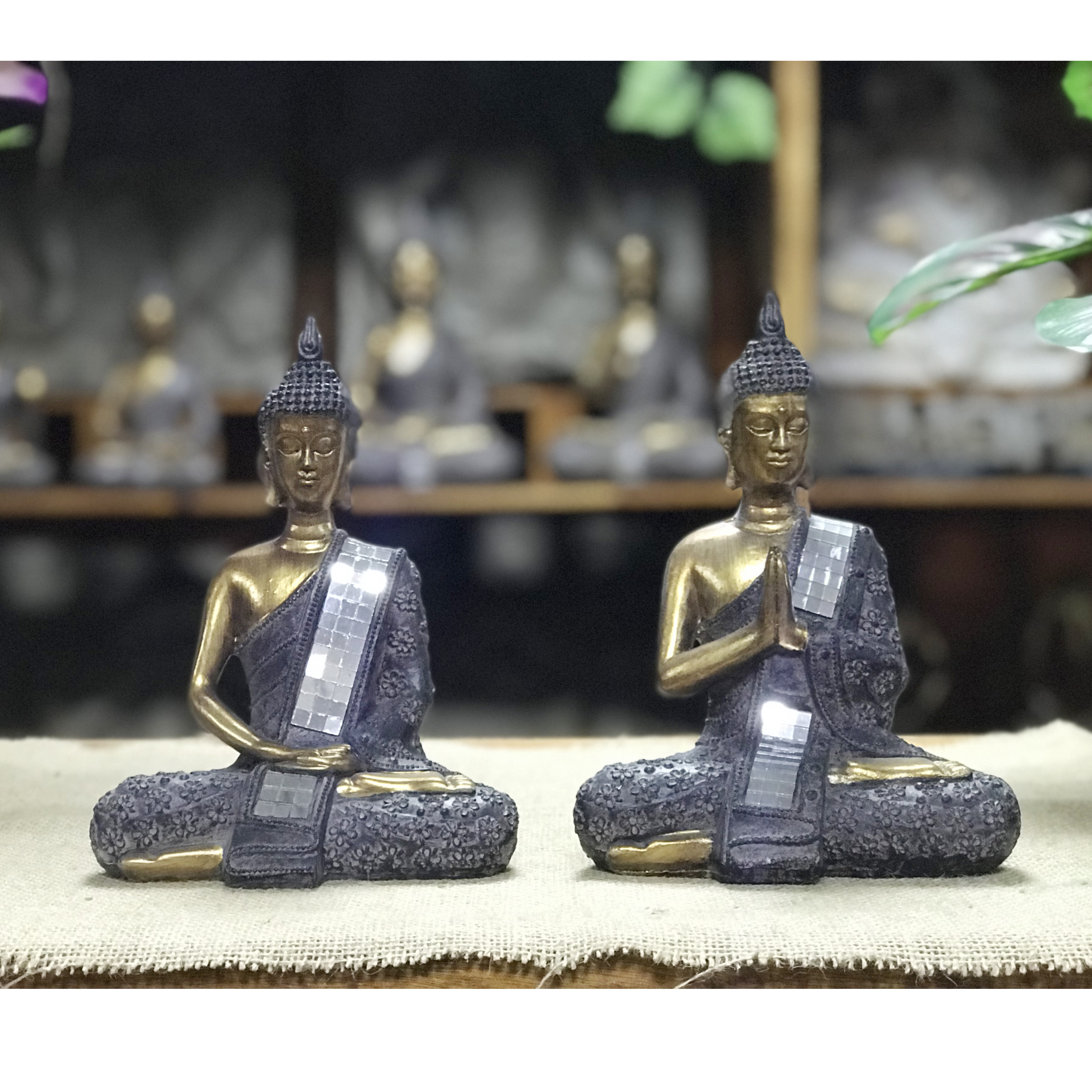 High Quality Buddha Statue Home Decorative Polyresin India Buddha