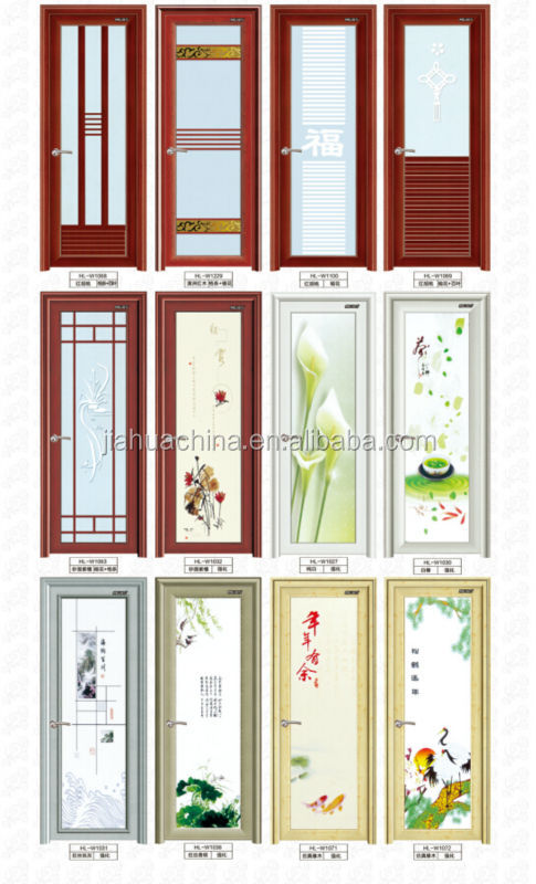 Good Services And Cheapest Price Aluminium Bathroom Door Elegant