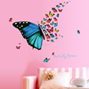 Beautiful butterfly dream wall stickers colorful butterflies hot selling wall art living room kitchen children rooms wallpaper