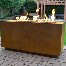 Modern Firepit Natural Outdoor Heater Corten Fire For Home Garden