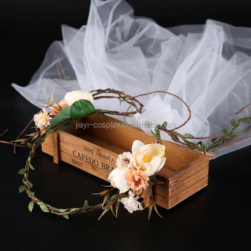Factory Wholesale Wedding Crown Bridal Crown Wedding Crown and Veil