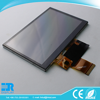 5 inch tft lcd screen module 800x480 with Capacitive touch screen I2C interface