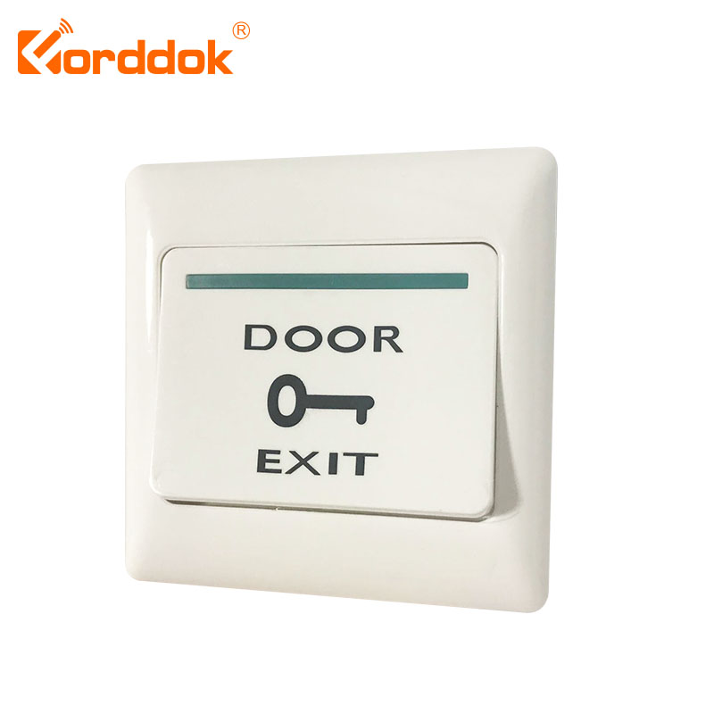 Capable Eseye Door Exit Button Push Exit Release Button Switch For Rfid Door Access Control System No Com Plastic Panel And Exit Button Sophisticated Technologies Security & Protection Access Control Accessories