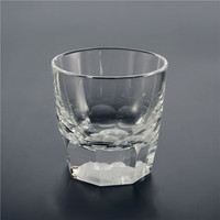 2019 hot sell high grade tequila glasses / Vodka shot crystal glass cup