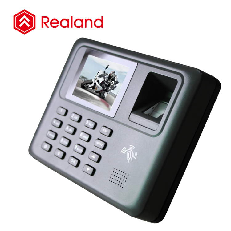 Realand A-F271 fingerprint empolyee time recording device system