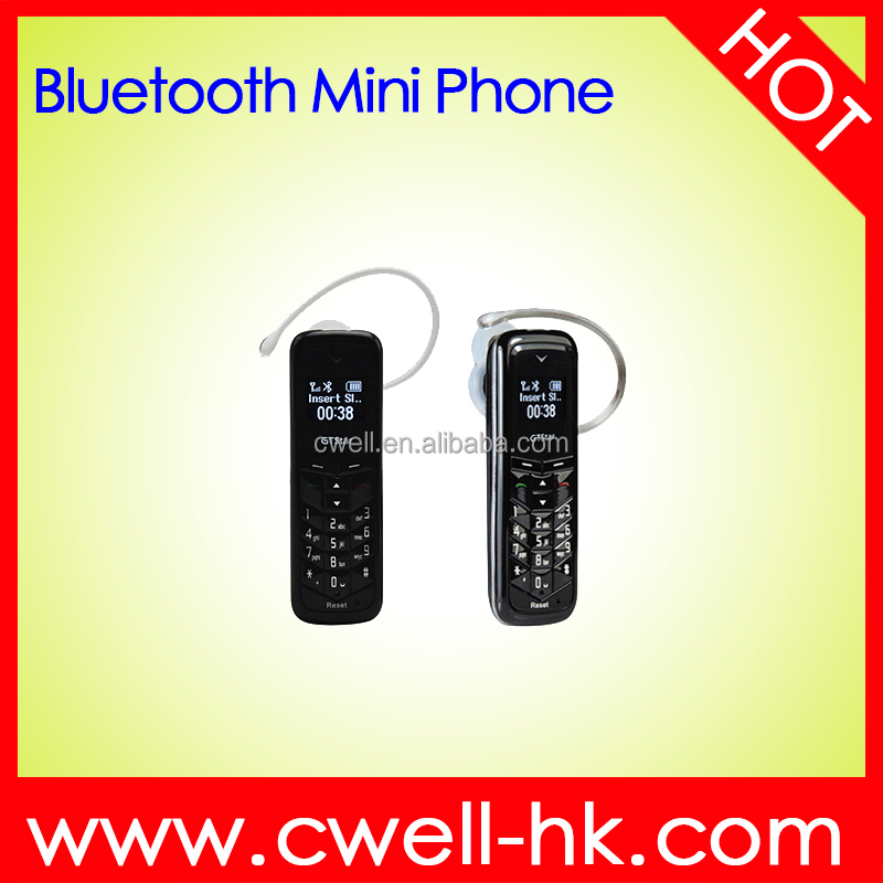 New 0.66 Inch OLED Screen GSM Quad Band Bluetooth Mini Mobile Phone GTstar BM50