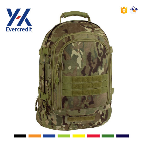 3 Day Stretch Camo Backpack Military Tactical Backpack