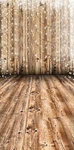 New Vinyl Glitter Wood Backdrop Newborn Christmas Vintage Wood Baby Shower 5x7Feet Rustic Wood Grain Background Paper for Photographers