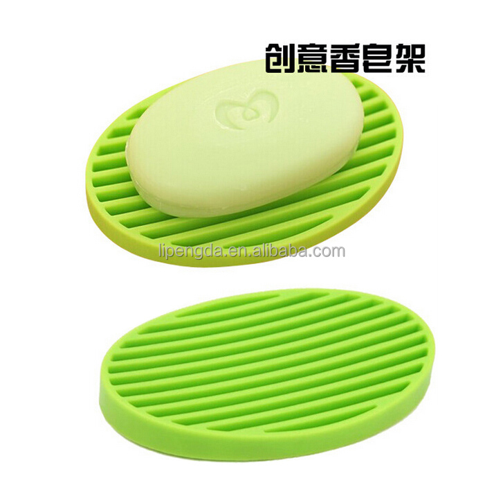 Promotional Gift Silicone Soap Dish / Silicone Soap Dish Holder / Silicone Soap Mat