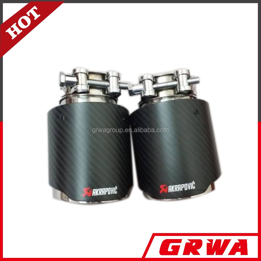 SS304 akrapovic carbon fiber exhaust tip looking for wholesaler