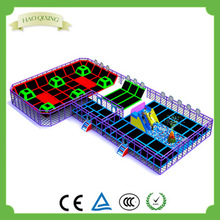 children's slide trampoline park indoor playground equipment