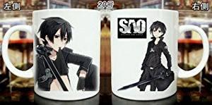 SAO Sword Art Online Cosplay Anime Mug Coffee Tea Cup Sketched