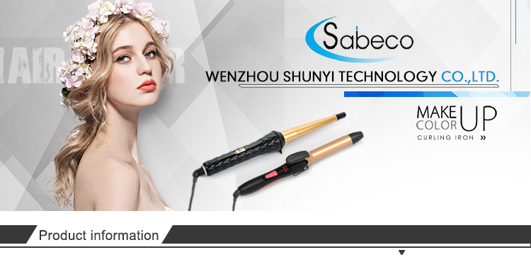 Sabeco Professional Coating Hair Curling Iron With Competitive Price