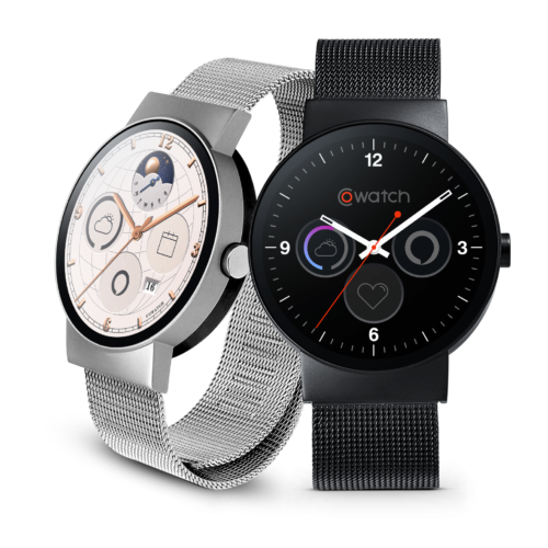 iMCO Modern Design CoWatch Enabled Alexa Voice Interaction Smart Watch Notifications on Your Wrist and Heart Rate Monitor