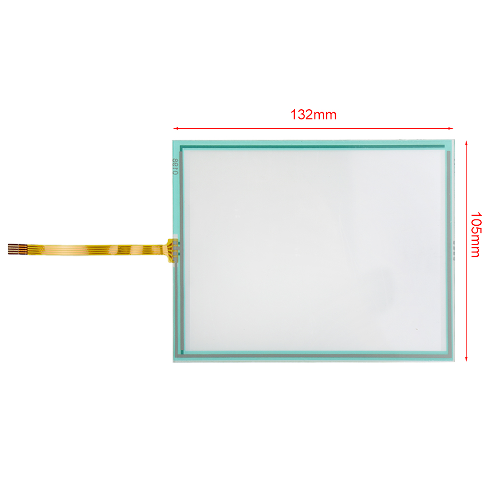 "5.7 ""4 Wire Resistive Touch Screen Panel voor Kopieerapparaten RZ370 RZ570 RZ670 RZ970"