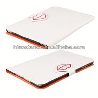 Buy direct from china manufacturer for ipad mini 2 pu leather case 2-color meshed leather case