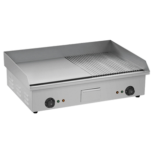 stainless steel table top portable electric griddle BN-822B (CE Certificates)