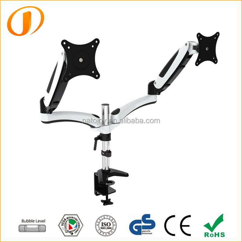Double spring LCD Stand arm Bracket Flat Panel Monitor Arm Easy for assembly GM124D