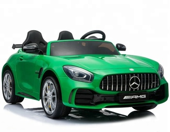 Mercedes Benz Gtr Licensed Two Seats Ride On Toy Car Electric Kids