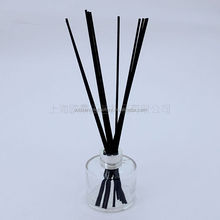 100ml clear round shape reed diffuser glass bottle