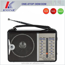 Hot sell mini fm am radio with powerful speakers
