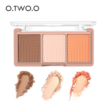 O.TWO. O Gesicht Textmarker Contour Make-Up Glitter Palette