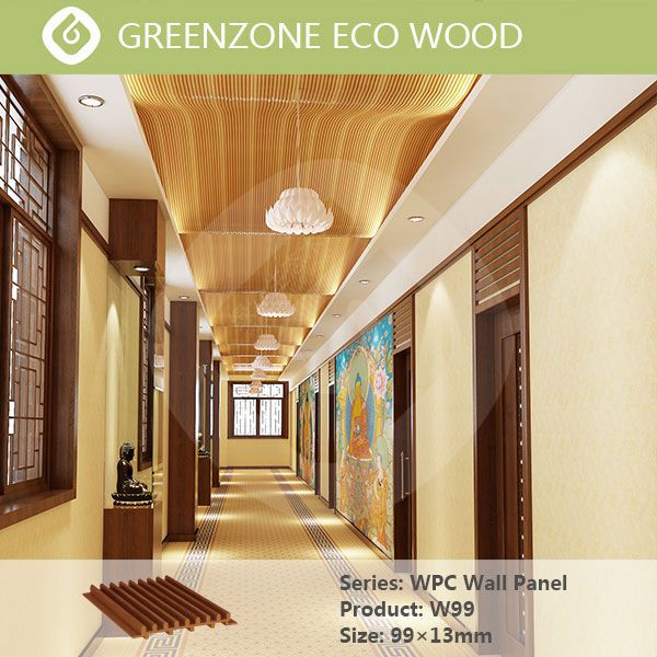 recycled building material wood laminate wall panels wpc prefabricated wall panels