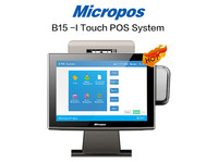Micropos B15-I15inch retail pos touch screen all in one pc