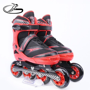 High rebound PU wheels inline roller skates shoes hot selling in North America