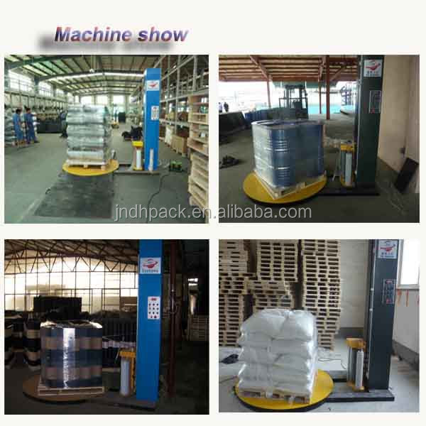 pallet wrapping machine used