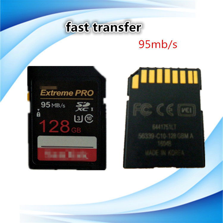 car DVR memory card 128G Full capacity SD card support OEM&ODM