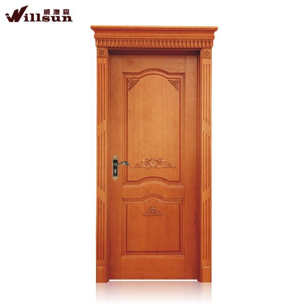 Door Designs Indian Style Simple Design Exterior Wood Door For Villa Solid Teak Wood Door Price