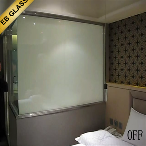 Great Extra Clear Smart Glass Shower Door , High Quality Switchable Electrostatic  Lamianted Magic Glass EB GLASS Part 9