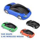 Factory Brand Sport 2.4G Car Shape Mouse Unique Wireless Mouse