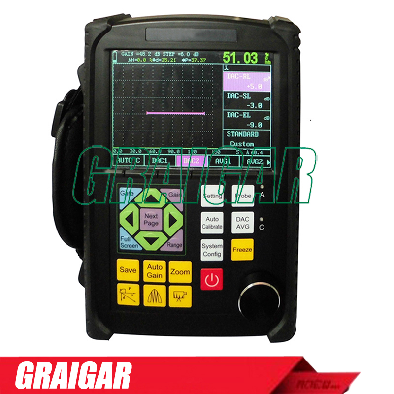 Portable ultrasonic flaw detector GR650 NDT instrument