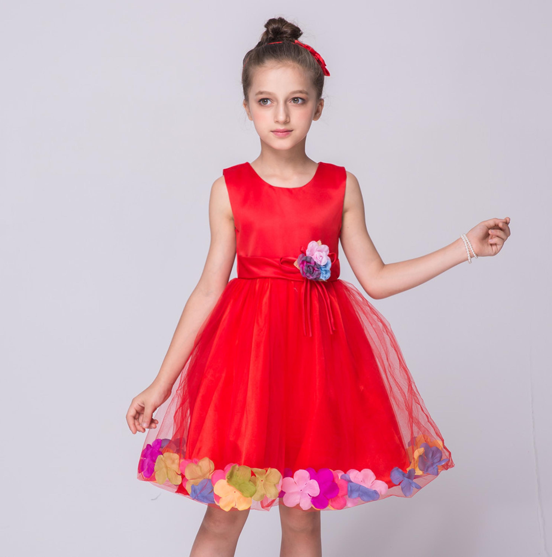 2016 Fashion Fashion Kids Beautiful Latest Dress Design Baby Girl