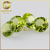 Zuanfa wholesale top quality round brilliant cut 8mm natural peridot