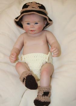45f791534963 20   Lifelike Newborn Silicone Vinyl Reborn Gift Baby Dolls Handmade ...