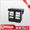 Show ink level chip printer cartridge for canon pg510 cl511 ink cartridge 510 511 cartridge