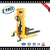 Factory Hot Sale Double Mast Manual Hand Stacker