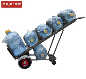 Collapsible truck 200kg load aluminum water bottle trolley hand cart