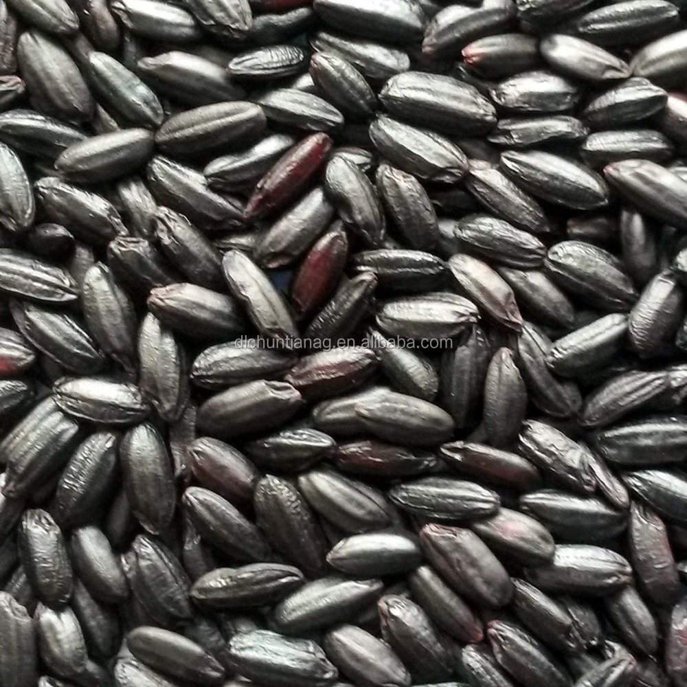 Organic black <strong>rice</strong> steamed